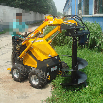 earth drilling earth auger mini machines for home business mini loader