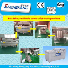 Complete Line Full Automatic small Potato Chips Making Production Line