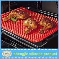 Non-stick Cooking Mat Pyramid Pan Silicone Baking Mat
