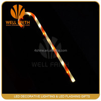 led crutch christmas halloween decoration flashing toys even and Party supplier