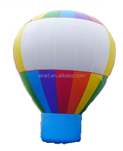 Pvc inflatable hot balloon advertising