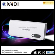 Dual ports Mobile powerbank leading manufacturers & exporters&suppliers, 16000mAh capacity and led power indicator