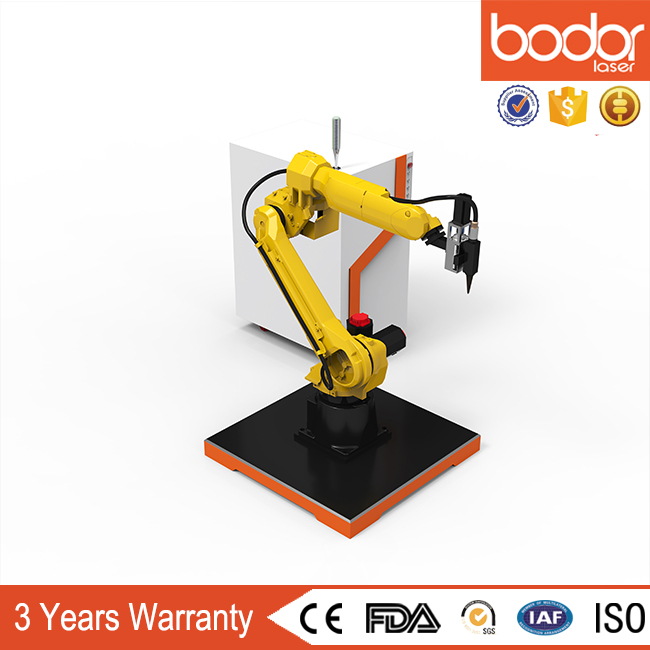 cheapest China Bodor 3D FANUC Robot Metal Cutting Machine