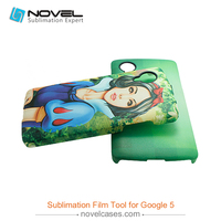Top quality sublimagtion filmm phone housing for Google5