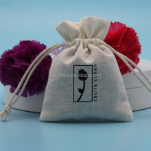 Cheap small linen drawstring pouch wholesale, drawstring jewelry pouch cotton