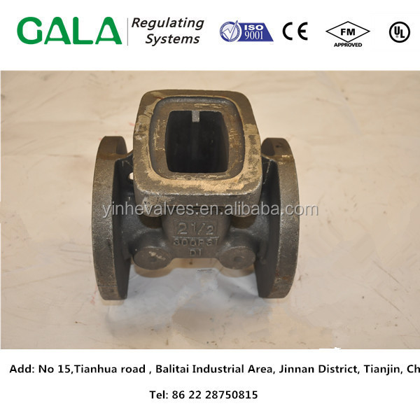 gate valve PN16 casting iron shell