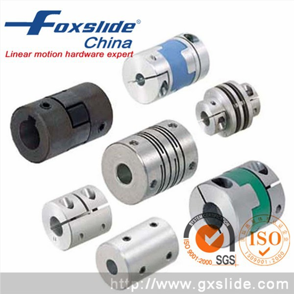 High speed stepper motor flexible spring encoder shaft for High speed stepper motor