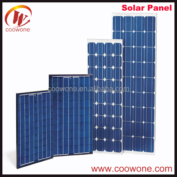 Light Weight Sunpower Portable Home Solar Panel PV Kit