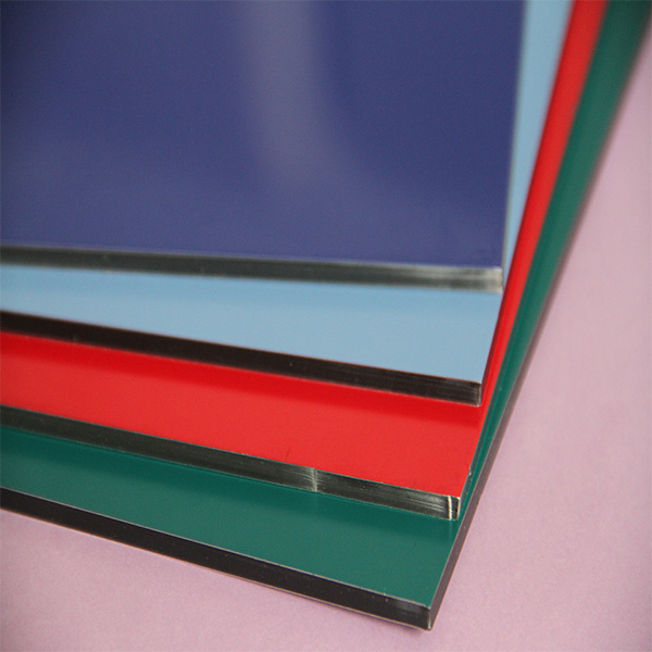 TUV certificate 4mm outdoor aluminium compsite panel plastic film aluminum panels aluminum composite panel China