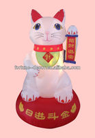 120cmH/4ft inflatable New Year decoration Maneki Neko/fortune/lucky cat