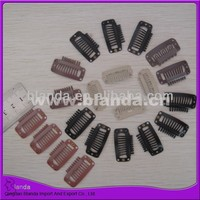 clips, pressure sensitive wig clips with rubber strip