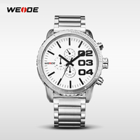 Stainless Steel Quartz Movements Fashion Watch Digital Watch Designer