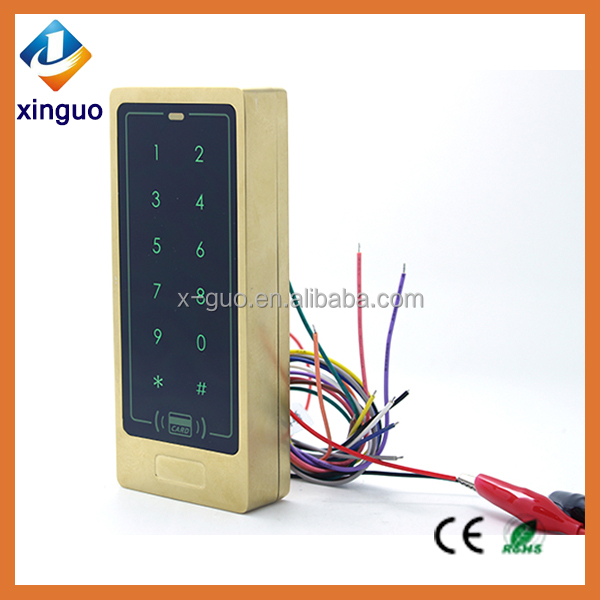 New Arrival card reader Rfid Entry Metal Door Lock Access Control