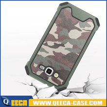 camouflage Back cover for samsung galaxy J5 J7 J1 MINI [Shock Armor][Camo Green] Dual Layer Protective antislip Bumper Hard case