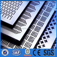 perforated metal sintered wire mesh/punching hole metal mesh plate