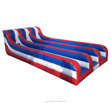 Inflatable Bungee Run Game, Inflatable Bouncer Two Lane Bungee Run