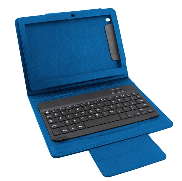 hot seller detachable bluetooth keyboard with PU case combo for ipad 2/3/4