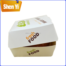 Wholesale hot-selling custom cardboard sandwich box for sale