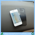 China mobile accessories pu gel sticky pad on car dashboard