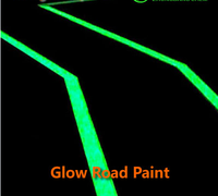 long lifespan luorescent pigment for glow in the dark road marking paint