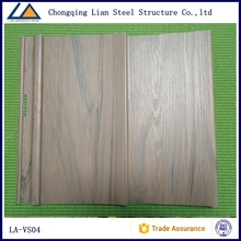 Wall cladding panel for prefab house wall siding panel