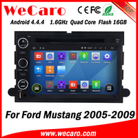Wecaro WC-FU7302 Android 4.4.4 car dvd player for ford mustang 2005 - 2009 with radio 3G wifi playstore