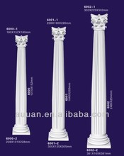 PU Foam Polyurethane Plastic Pillars for Decoration Decorative Lighted Lowes Roman Column and Pillars Design from Guangdong