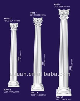 Pu Foam Polyurethane Plastic Pillars For Decoration