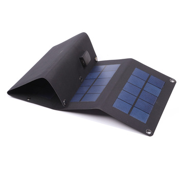 2018 year 6W/8W/12W/14W new foldable solar bag charger solar panel