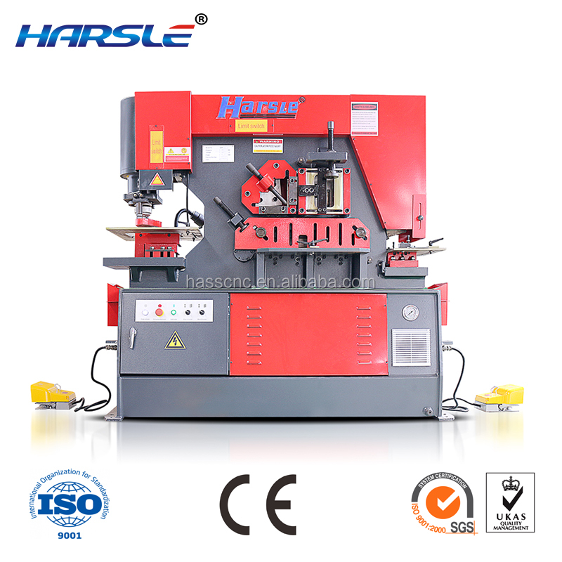 Harsle Professional High Precision Wide Application J23-25 q35y series tube punch puncture machine tube punching machine