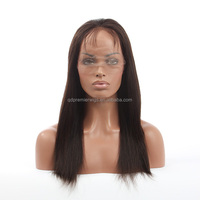 Hot Sale 2015 New Glueless Cap Brazilian Human Hair Full Lace Wig Silk Top Wig