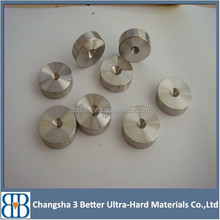 Wholesale pcd die blanks fo wire drawing/PCD die blanks/flat coper wire drawing dies