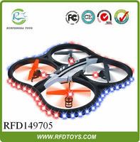 China wholesale,2.4G rc quadcopter intruder ufo uav quadcopter with camera and led light,electric rc helicopter