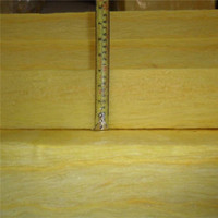 Kingflex 40mm thickness fiberglass wool felt used in roof of steel structure