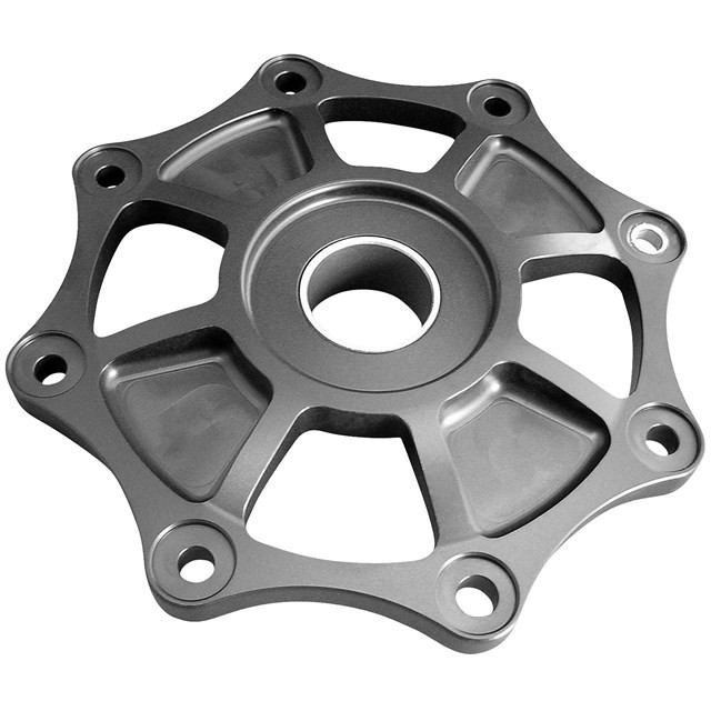 Custom high quality black oxided steel motorcycle clutch cover