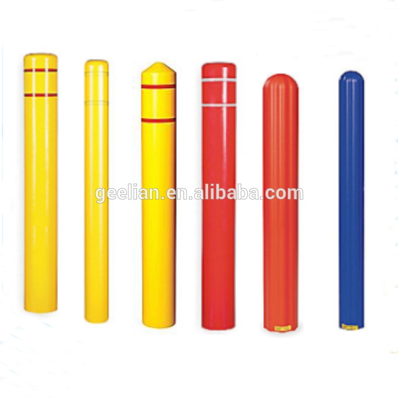 Cheap Plastic Removable Post Cover Folding Plastic Bollard Cover
