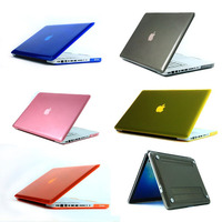 smooth shell plastic crystal hard case for macbook pro 13 retina