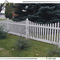 Scallopped Picket Fence