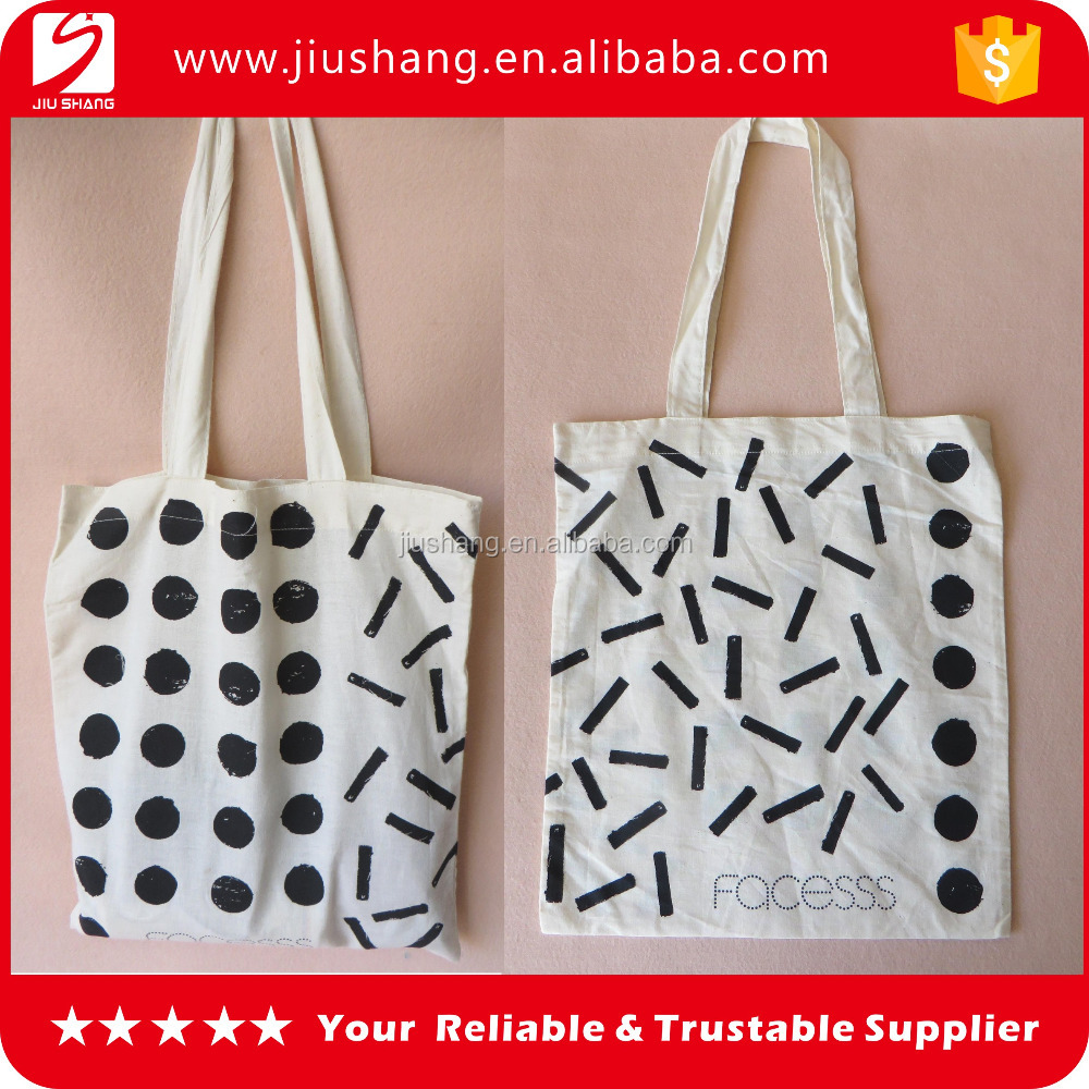 Custom printing stripe cotton canvas shopping bag,foldable canvas tote bag wholesale