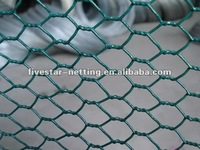 galvanized /pvc coated poultry wire mesh/hexagonal wire netting