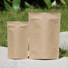 factory sale sturdy small paper peanut bags / particular foldable kraft paper bag for hot waffle peanut