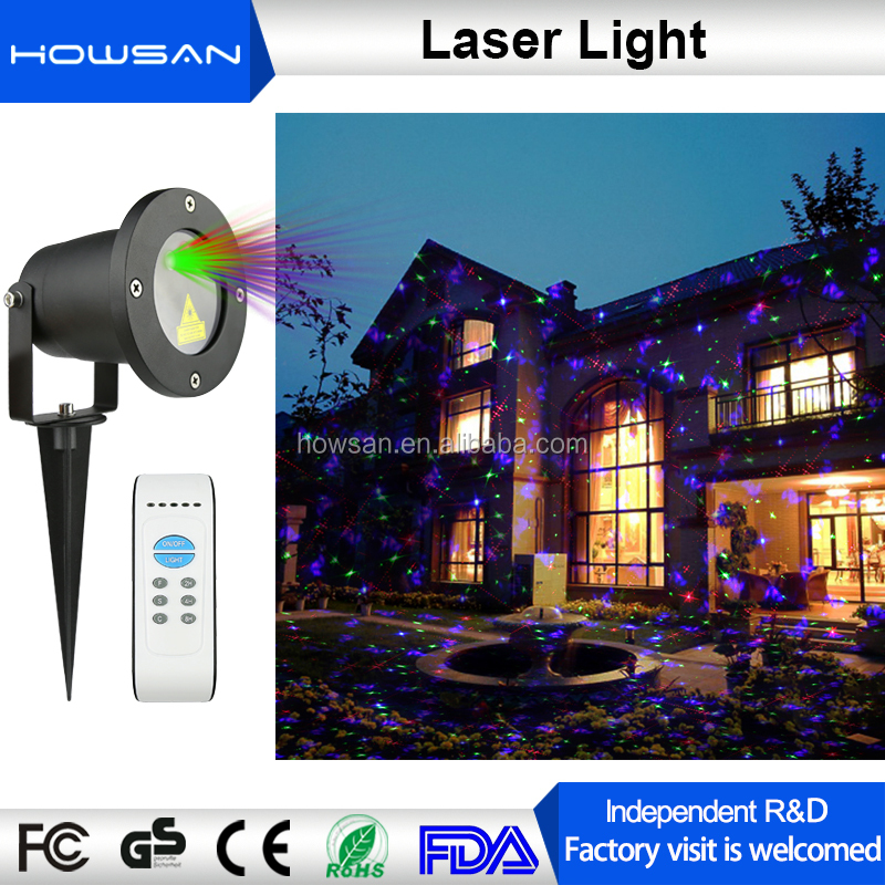 RGB outdoor laser light show equipment star projection lights text laser projector
