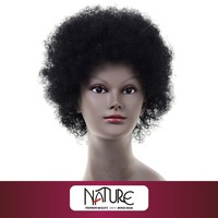 listed company rebecca short afro wave human hair wig