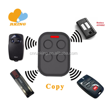 280mhz to 868mhz Multi-Brand Rolling Code Remote Control Duplicator Face To Face