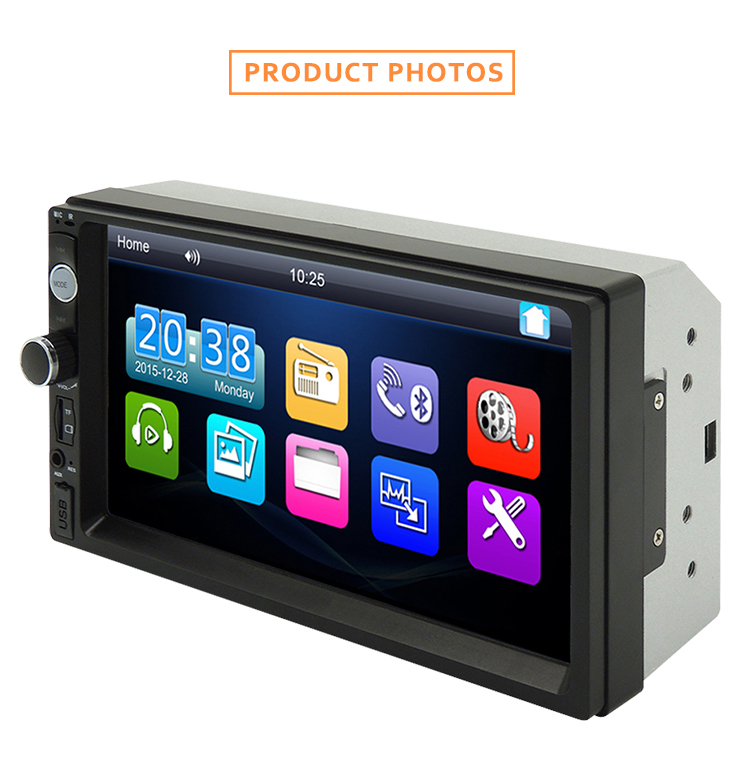 7Inch Car multimedia <strong>player</strong> with GPS Bluetooth Mirror link