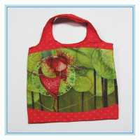 foldable shopping bag polyester,foldable zipper tote bag,folded nylon bag