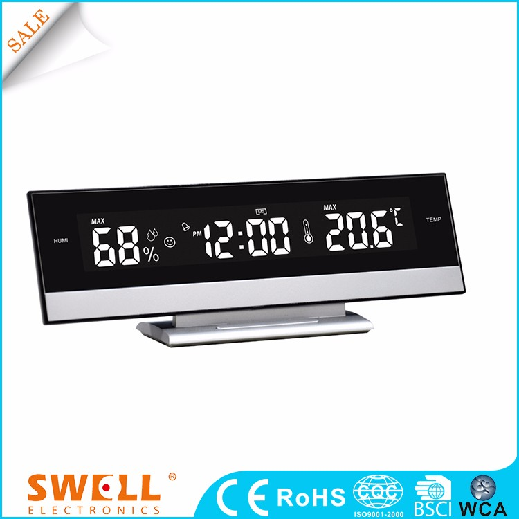 Wholesale fancy small light lcd digital alarm clock adult theme