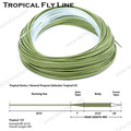 Weight forward floating Tropical saltwater fly fishing line