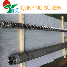 HDPE water pipe and gas pipe extruder machine barrel screw
