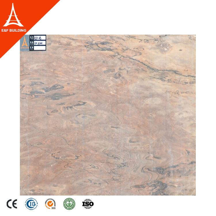 Porcelain floor tile that looks like marble